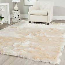 Shag Carpet Area Rugs Safavieh Silken Ivory Shag Rug 8 X 10 Overstock Shopping