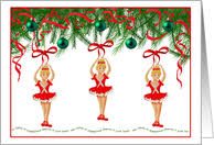 christmas cards themed christmas cards for my dancer from greeting card universe
