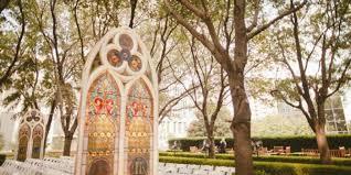 Wedding Arches Dallas Tx Marie Gabrielle Restaurant And Gardens Weddings
