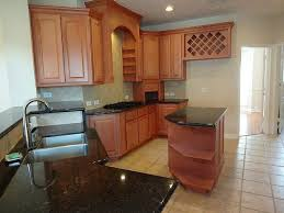 baffling brown color wooden kitchen island with wine rack with