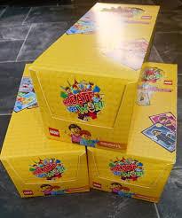 lego cards sainsbury u0027s create the world one large full box ebay
