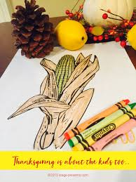 color with me thanksgiving coloring sheets stage presents