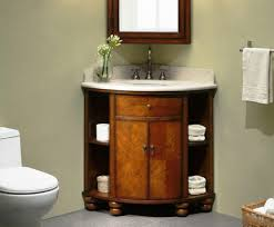 Small Bathroom Cabinet by Space Saver Corner Bathroom Vanity Inspiration Home Designs
