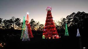 Garvan Gardens Christmas Lights Garvin Gardens Light Show Youtube