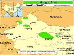 us desert map mongol alxa in china joshua project