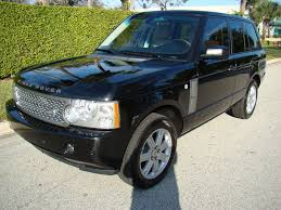 black land rover with black rims range rover land rover for sale