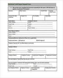 credit report template report card template download free