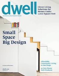 Living In Small Spaces by Dwell September 2014 Vol 14 Issue 09 Small Space Big Design