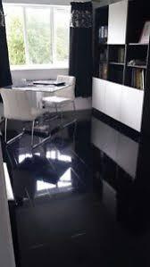 black high gloss laminate flooring price per 2 1 sqm designer