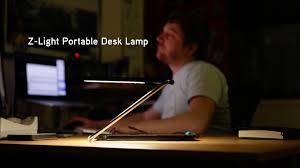 Portable Desk Lamp z light portable desk lamp from thinkgeek youtube