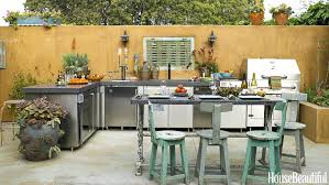 back yard kitchen ideas outdoor kitchen ideas with pizza oven design and pictures backyard