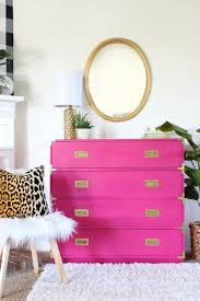 amazing pink campaign dresser makeover campaign dresser