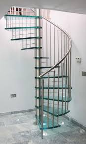 Stainless Steel Banisters Decor Beautiful Home Design With Spiral Staircase Kits