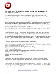personal resume samples personal trainer resume examples personal training resume examples personal trainer resume sample and writing guide rg personal training resume sample