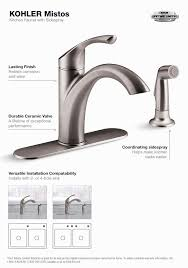 installing kitchen faucet tools needed to install kitchen faucet gallery home