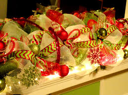 christmas mesh ribbons unihack co