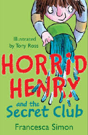 Horrid Henry Secret Club Official Horrid Henry