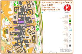 Lancaster Map Summer Sprint 5 Lancaster University Final July 5th 2011