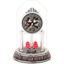 disney mickey mouse minnie and mickey anniversary clock home
