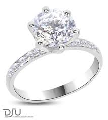 18 carat diamond ring carat e vs2 solitaire diamond engagement ring set in 14