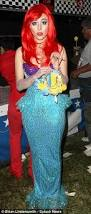 Halloween Costumes Red Hair Mermaid Fancy Dress Amazing