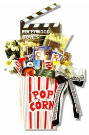 Movie Themed Gift Basket Indian Gifts And Gift Baskets 847 277 1483 Call Us To Order