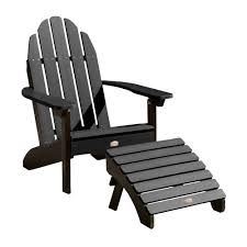 Adirondack Chair With Ottoman Low Maintenance Adirondack Chair And Ottoman Highwood Usa