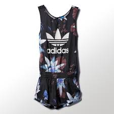 adidas one jumpsuit lotus print all in one adidas us
