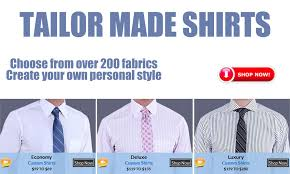 tailored shirts custom tailored dress shirts men tailored fit