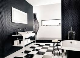 black and silver bathroom ideas black white and silver bathroom