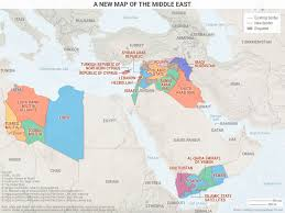 map new map 5 maps that explain the new middle east business insider