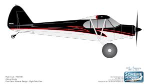 2017 super cub paint scheme contest above alaska aviation llc