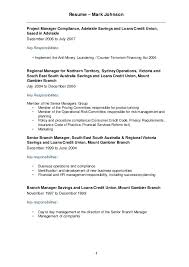 credit union operations manager resume best resumes curiculum
