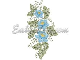 Tablecloth Spring  Machine Embroidery Design - Table cloth design