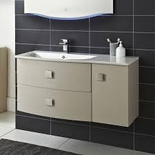 Hudson Reed Bathroom Furniture Hudson Reed Sarenna 1000mm Wall Hung Cabinet Basin Left
