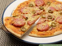 round table pizza pan vs original crust how to cook pizza in a gas oven 14 steps with pictures
