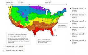 us climate map your building science climate zone proud green home