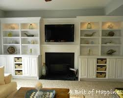 Fireplace Built Ins Built Ins Around Fireplacetv Living Room - Family room built in cabinets
