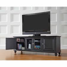 Wooden Tv Stands And Furniture Crosley Furniture Cambridge Low Profile Tv Stand For Tvs Up To 60