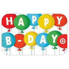 balloons gift happy birthday balloons gift card target