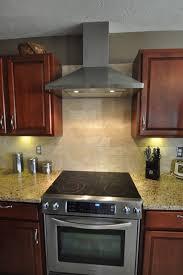 Backsplash For Kitchen With Granite New Venetian Gold Granite Countertop With Tile Backsplash