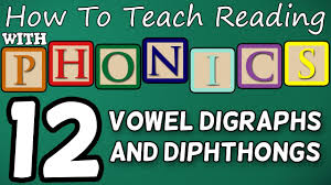 how to teach reading with phonics 12 12 vowel digraphs