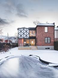 l mccomber architects gives contemporary update to tudor style