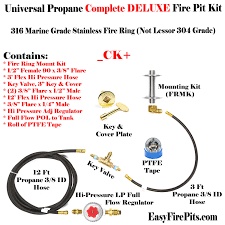 Fire Pit Parts And Accessories by Our Diy Gas Fire Pit Kits All Are Nat Gas Or Lp Compatible