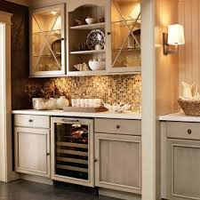 cabinet mount wine cooler astounding kitchen wine bars featuring brown kitchen cabinets and