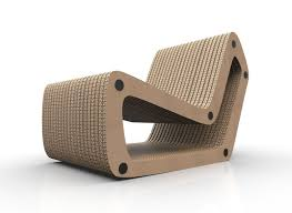 Lounge Chair 3d Model Cardboard Lounge Chair Cgtrader