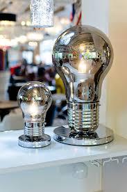 light bulb shaped l smoked light bulb shaped table lamp be fabulous