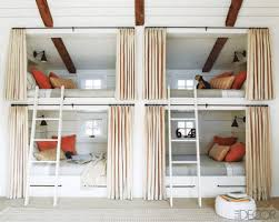 Top Bunk Bed Only I That Each Bed Has It S Own Set Of Drapes For Privacy And