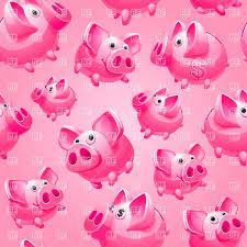 Heart Shaped Piggy Bank Seamless Heart Shaped Frame Piggy Banks Vector Image 17122