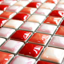 Red Backsplash Kitchen Mosaic Fashion Picture More Detailed Picture About Tiles Mosaics